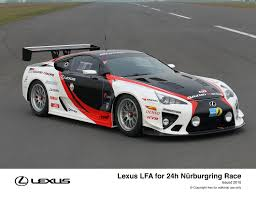 lexus lfa reliability lexus and gazoo racing compete together at nürburgring 24h race