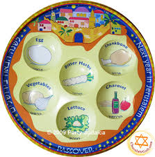 the passover plate seder plate jerusalem pack of 10