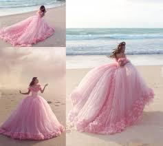 cinderella wedding dresses 2016 pink quinceanera dresses princess cinderella formal
