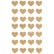 heart wrapping paper gold glitter heart stickers paper source