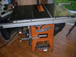 ridgid table saw miter gauge ridgid table saw11 jpg
