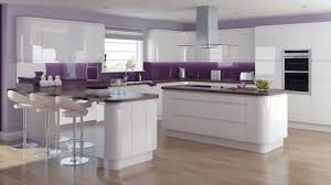 solo gloss white kitchen personalise with vibrant colours norma