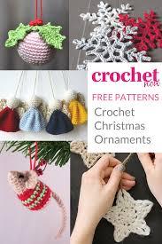 free crochet ornament patterns crochet now