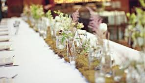 wedding reception table runners 30 pretty wedding table runner ideas weddingomania