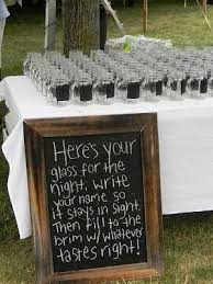 chagne wedding favors wedding favors using jars jars w chalkboard paint