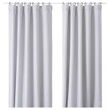 Light Grey Shower Curtain Vilborg Curtains 1 Pair Light Grey 145x250 Cm Ikea