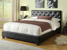 diamond tufted headboard perfect brown leather tufted headboard 46 about remodel image with