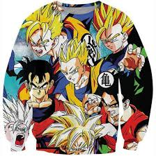 classic dragon ball gohan stylish cool 3d sweatshirt u2013 saiyan stuff