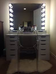 vanity makeup mirror with light bulbs 70 most perfect illuminated makeup mirror electric vanity with light