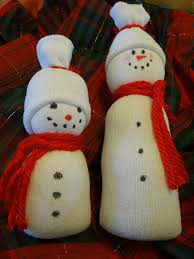easy sock snowman tutorial with