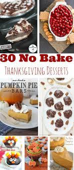 no bake desserts for thanksgiving