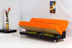Orange Sofa Bed The On Orange Futon Cabinets Beds Sofas