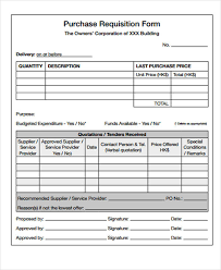 Purchase Request Form Template Excel 43 Free Requisition Forms