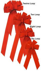 velvet bows 4 inch 10 loop velvet bow golden openings