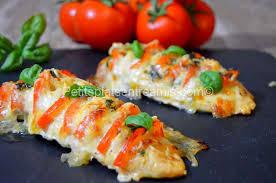 cuisiner des filets de poulet poulet tomate mozzarella petits plats entre amis