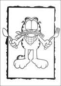 garfield coloring pages free coloring pages