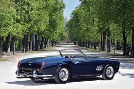 ferrari 250 gt california spyder passo corto open headlights