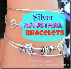 make silver bracelet images Diy adjustable silver bracelets anyone can make crafts a la mode jpg