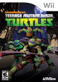teenage mutant ninja turtles nintendo wii gamestop