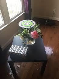 coffee table floral arrangements black coffee table mirrored box and acrylic floral arrangement