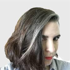 black hair with grey streaks the 25 best gray streaks ideas on pinterest grey hair streak