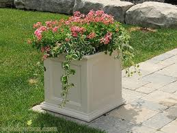 prestige 20x20 patio planter planters and pots container