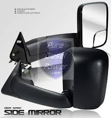 towing mirrors for dodge ram 3500 dodge power heated towing mirrors flip out kool vue dg49el r