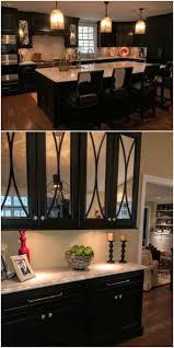 Under Cabinet Kitchen Lighting Kitchen Contrast Two Tone Kitchen Cabinet With White Brown
