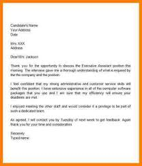 9 thank you letter after interview template letter format for