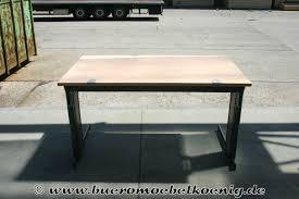 B Obedarf Schreibtisch 140x80 In Wildbirne Von Lorbeer