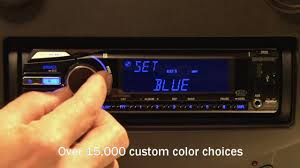 sony cdx gt650ui cd receiver display and controls demo