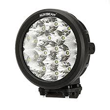 round led driving lights amazon com auxbeam 7 round driving light 80w cree led 8000lm combo