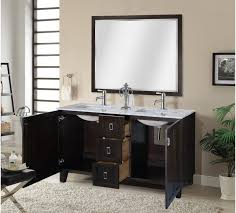 American Classics Bathroom Vanities by In Series 60 Inch Classic Double Sink Bathroom Vanity Dark Brown