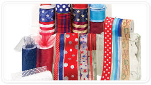 patriotic ribbon offray patriotic ribbon