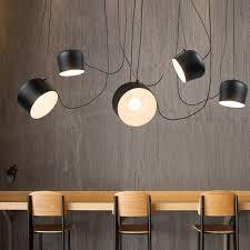 Lighting For Dining Room Aliexpress Com Buy Diy Vintage Retro Black Pendant Lights For