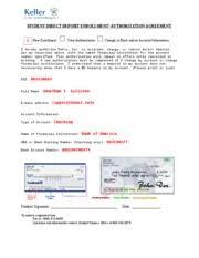 ach keller direct deposit authorization form dsi d03228693 full