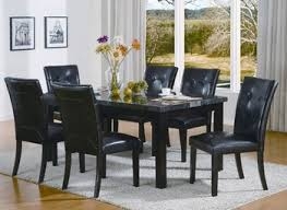black dining room table set kitchen dining room sets black dining table set