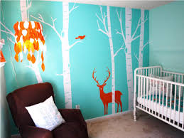 Nursery Decals For Walls by Cute Tree Wall Decals For Nursery Ideas