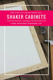 how to update your house diy shaker cabinet door update shaker cabinet doors shaker