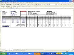 Weekly Employee Shift Schedule Template Excel Employee Work Schedule Template