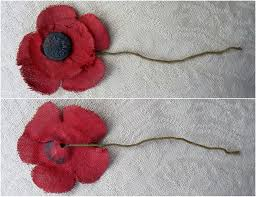 remembrance poppy timeline for great britain madame guérin