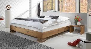 Kleines Schlafzimmer Nur Bett Wildeiche Boxspringbett Für Dachzimmer Liege Mexiana