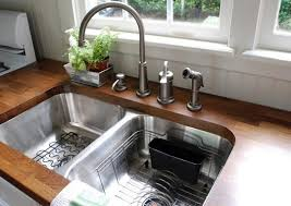 Things You Need To Know About Undermount Kitchen Sinks Kitchn - Kitchen counter with sink