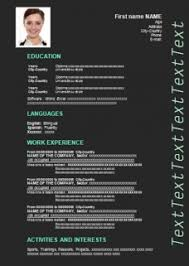 creative resume template to download for free resume word