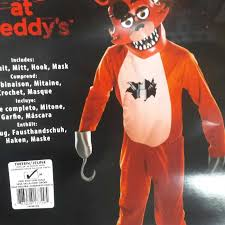 foxy costume find more five nights at freddy s foxy the pirate