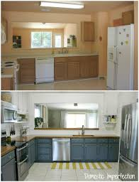 Before And After Pictures Of Painted Kitchen Cabinets My Painted Kitchen Cabinets Five Years Later Domestic Imperfection