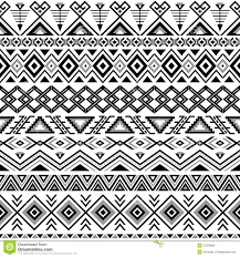Tribal Print Wallpaper by Ethnic Striped Seamless Pattern Stock Vector Image 50378883