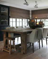 rustic modern dining room best 25 modern rustic dining table ideas on pinterest beautiful