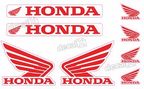 Excepcional Kit Adesivos Capacete Honda Asa Refletivo Ktcp61 - Adesivos para  @ZO06