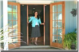 Out Swing Patio Doors Retractable Screen For Outswing Patio Door Doors Pinterest